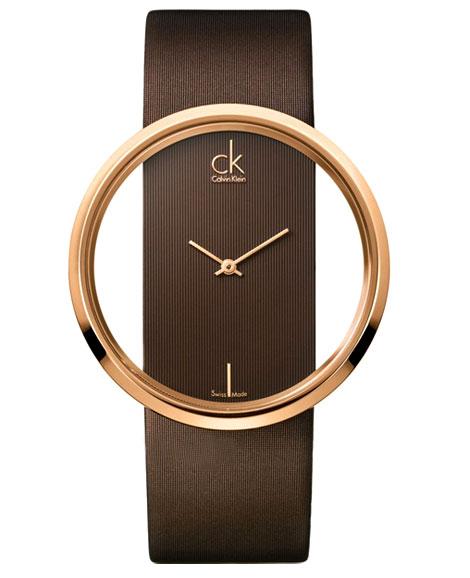 خرید ساعت زنانه CK قهوه ای رنگ