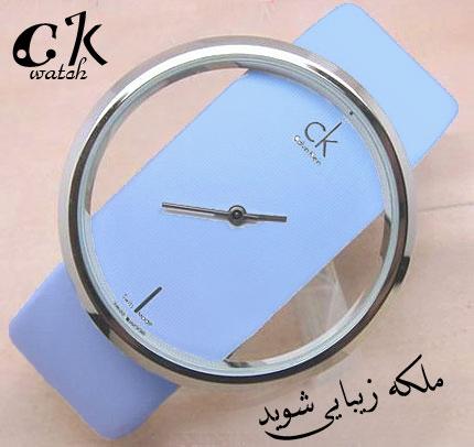 خرید ساعت زنانه Ck رنگ آبی