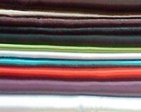 پارچه ساتن رنگی ساده معمولی