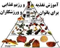 توضیحات آموزش نحوه تغذیه