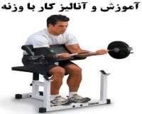 آموزش و آنالیز کار با وزنه و وسایل بدنسازی