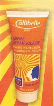 کرم ضد آفتاب فیزیکی  CALLIBELL -  SPF 50 مجوز بهداشتی : 100241012106