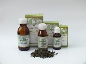 عصاره چای سبز4عدد30cc