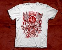 تی شرت هواداران پرسپولیس