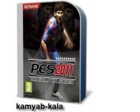 بازی فوتیال حرفه ای PES2011 با جدیدترین پچ ادیتور(2عددDVD)