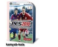 بازی فوتبال PES2010 با کرک معتبر(1عددDVD)