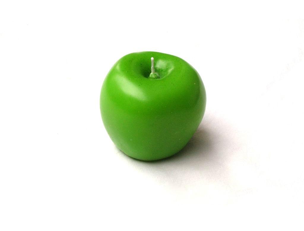 شمع طرح سیب بزرگ Apple_Candle