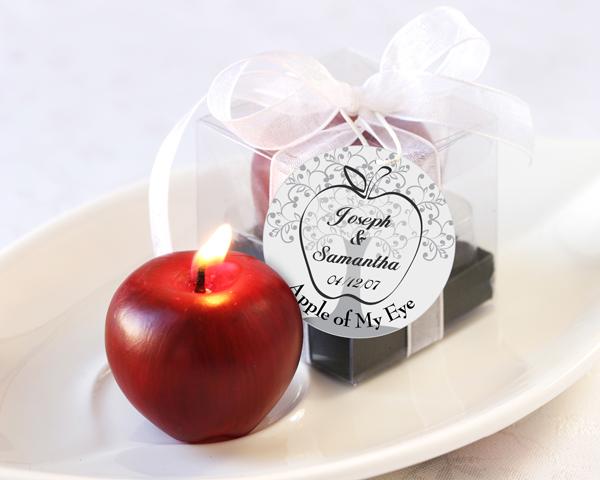 شمع طرح سیب بزرگ